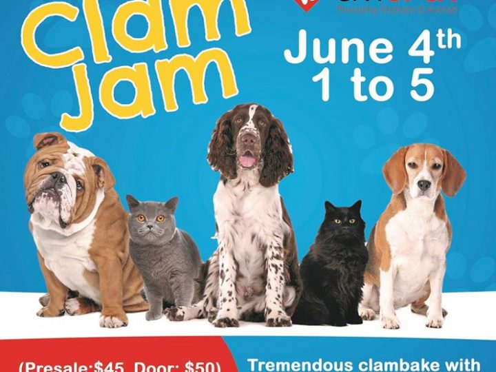 SPCA Clam Jam June 4th 2017